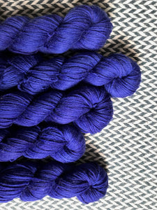 MIDNIGHT MOMENT -- Brooklyn Bridge worsted weight yarn -- ready to ship
