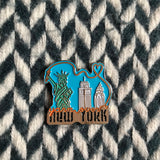 YONY SKYLINE COLLECTIBLE ENAMEL PIN -- ready to ship