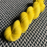 PEEP! -- Broadway sparkle sock yarn -- ready to ship