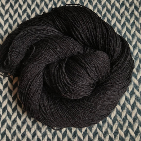 BLACKBIRD -- Times Square sock yarn -- ready to ship