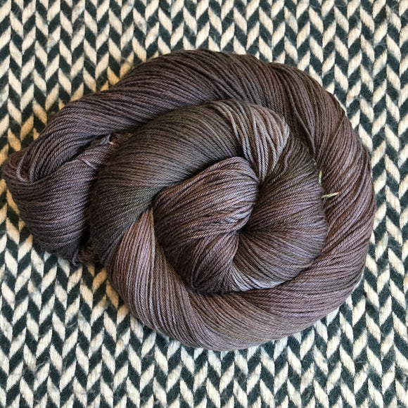 TURKEY VULTURE -- Times Square sock yarn -- ready to ship