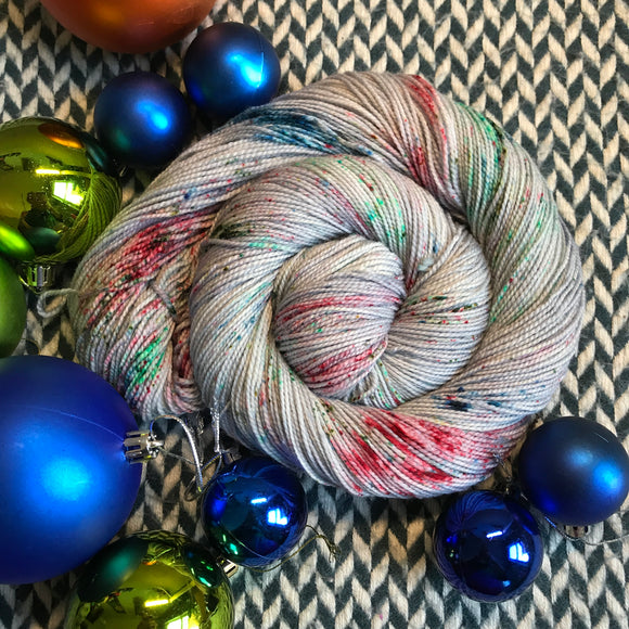 BAUBLE TROUBLE -- Harlem sock yarn -- ready to ship