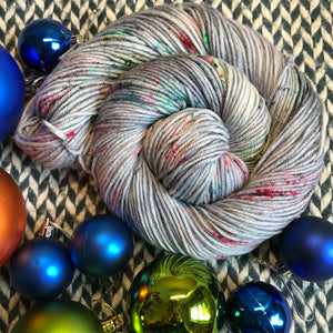 BAUBLE TROUBLE -- Greenwich Village DK yarn -- ready to ship