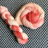 BABY FLAMINGO -- Times Square sock yarn -- ready to ship
