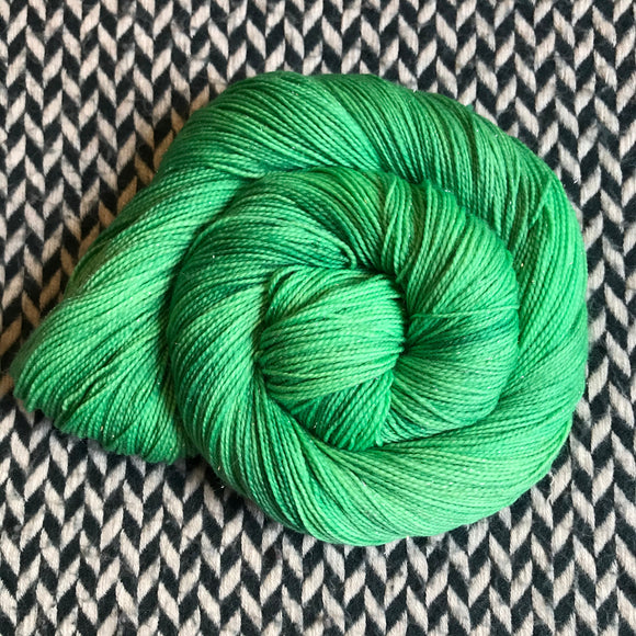 LOVEBIRD -- Broadway sparkle sock yarn -- ready to ship