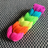 Highlighter Pack *6 Mini-Skein Set* -- Harlem sock yarn -- ready to ship