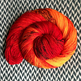 CHILI MANGO -- Times Square sock yarn -- ready to ship