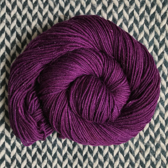 VELVETEEN -- Tribeca sparkle DK yarn -- ready to ship