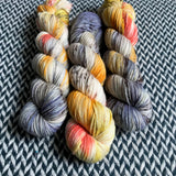 TAXIS IN THE RAIN -- Greenwich Village DK yarn -- ready to ship
