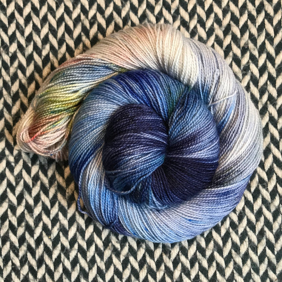MILKY WAY REFLECTIONS -- dyed to order yarn