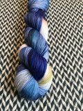 MILKY WAY REFLECTIONS -- Harlem sock yarn -- ready to ship