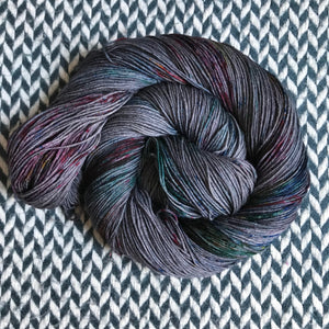 BEJEWELED SLATE -- Times Square sock yarn -- ready to ship