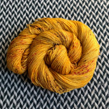 QUEEN BEE -- Broadway sparkle sock yarn -- ready to ship