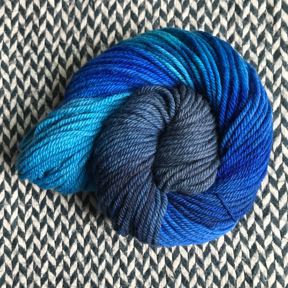 DAMSELFLY -- Pelican Bay alpaca bulky yarn -- ready to ship