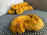 QUEEN BEE -- Times Square sock yarn -- ready to ship