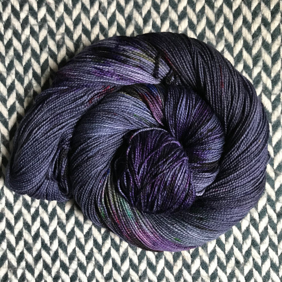 NIGHT LIFE -- Nolita sock yarn -- ready to ship