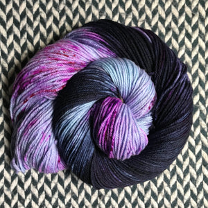 GRILLED BLUEBERRIES -- dyed to order yarn