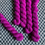 Boom Berries -- mini-skein -- Times Square sock yarn-- ready to ship