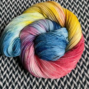 SWIFTWIND -- Broadway sparkle sock yarn -- ready to ship