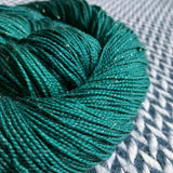 FOREST -- Broadway sparkle sock yarn -- ready to ship