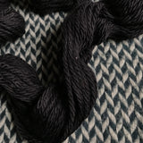 BLACKBIRD -- Flushing Meadows bulky weight yarn -- ready to ship