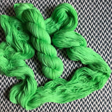 LIME SQUEEZE -- Times Square sock yarn -- ready to ship