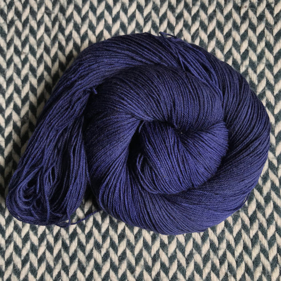 NAVY STORM -- Harlem sock yarn -- ready to ship