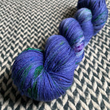 DON'T PANIC, PEACOCK -- Times Square sock yarn -- ready to ship