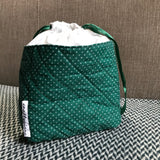 JOLLY AND GREEN -- project bag -- ready to ship