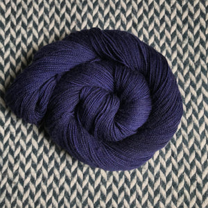 NAVY STORM -- Times Square sock yarn -- ready to ship