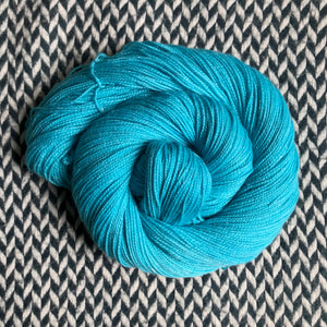 EAU ELECTRIQUE -- Broadway sparkle sock yarn -- ready to ship