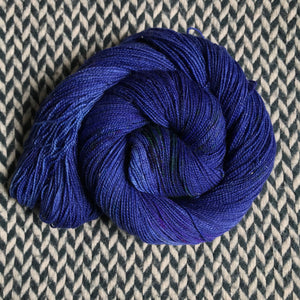 DON'T PANIC, PEACOCK -- Broadway sparkle sock yarn-- ready to ship