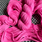 ROSE CHOQUANT -- Flushing Meadows bulky yarn -- ready to ship