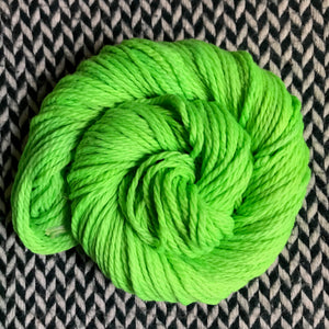 ABSINTHE LUMINEUSE -- Flushing Meadows bulky weight yarn -- ready to ship