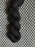 BLACKBIRD -- Kew Gardens DK yarn -- ready to ship