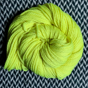 CITRON TOXIQUE -- Flushing Meadows bulky weight yarn -- ready to ship