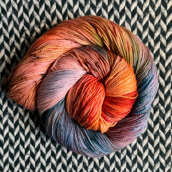 SOL LEVANT -- Broadway sparkle sock yarn -- ready to ship