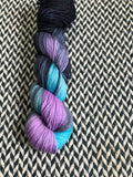 FLUX/SHIFT -- Tribeca sparkle DK yarn -- ready to ship