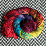 DUSK RAINBOW -- Randall's Island merino sport yarn -- ready to ship