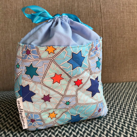 STARS -- project bag -- ready to ship