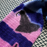 BEWITCHED -- hand-painted sock blank -- dyed to order