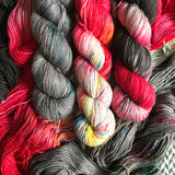THE COLOR PARROT -- dyed to order yarn