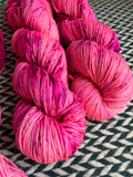 I'M A BARBIE GIRL -- dyed to order yarn
