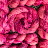 I'M A BARBIE GIRL  -- Times Square sock yarn -- ready to ship