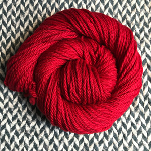 HEART -- Flushing Meadows bulky weight yarn -- ready to ship