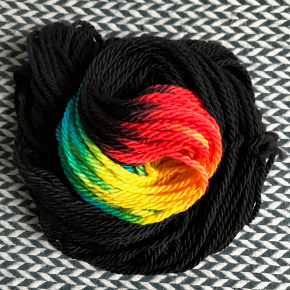 KUNG HEY FAT CHOY -- dyed to order yarn