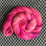 I'M A BARBIE GIRL -- Greenwich Village DK merino yarn -- ready to ship