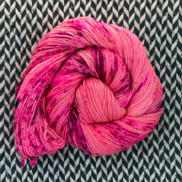 I'M A BARBIE GIRL -- Brooklyn Bridge worsted merino yarn -- ready to ship