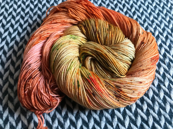 ANNA BALCH -- Times Square sock yarn -- ready to ship