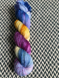 DEW JEWELS -- Times Square sock yarn -- ready to ship